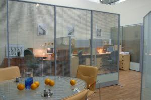 «Умное» стекло для офисных перегородок