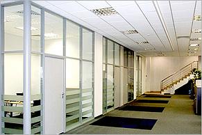 Перегородки для офиса: особенности конструкции, правила выбора