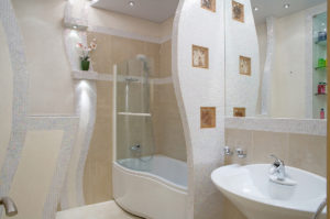 Перегородки в ванной комнате: выбор материала и варианты дизайна