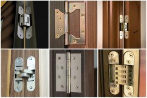«Накладные, врезные, скрытые»: все о петлях для межкомнатных дверей и том, как их выбрать