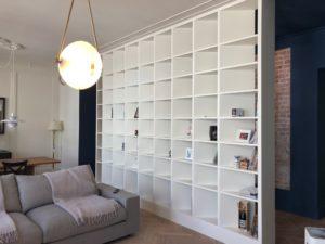 Зонирование квартиры-студии: функциональные варианты дизайна с перегородкой